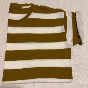 Madewell Whisper Crewneck in Rugby Stripe